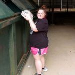 Kristal Helps With Our Recycling Program